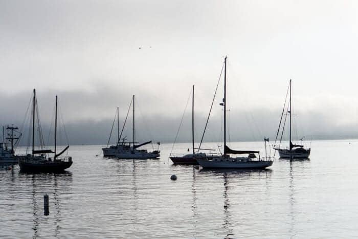Monterey Harbor in the early Morning
