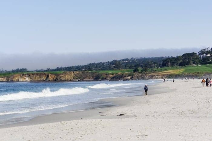 Pebble Beach in Carmel
