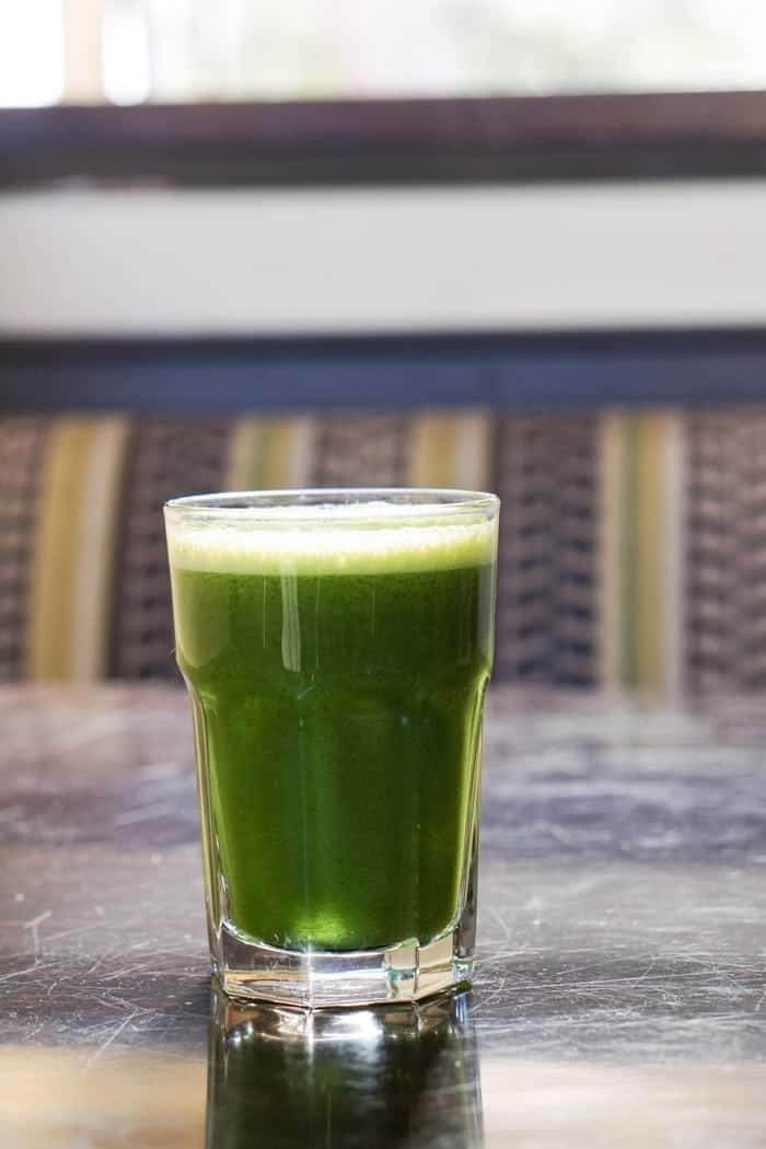 Green Juice from Carmel Belle