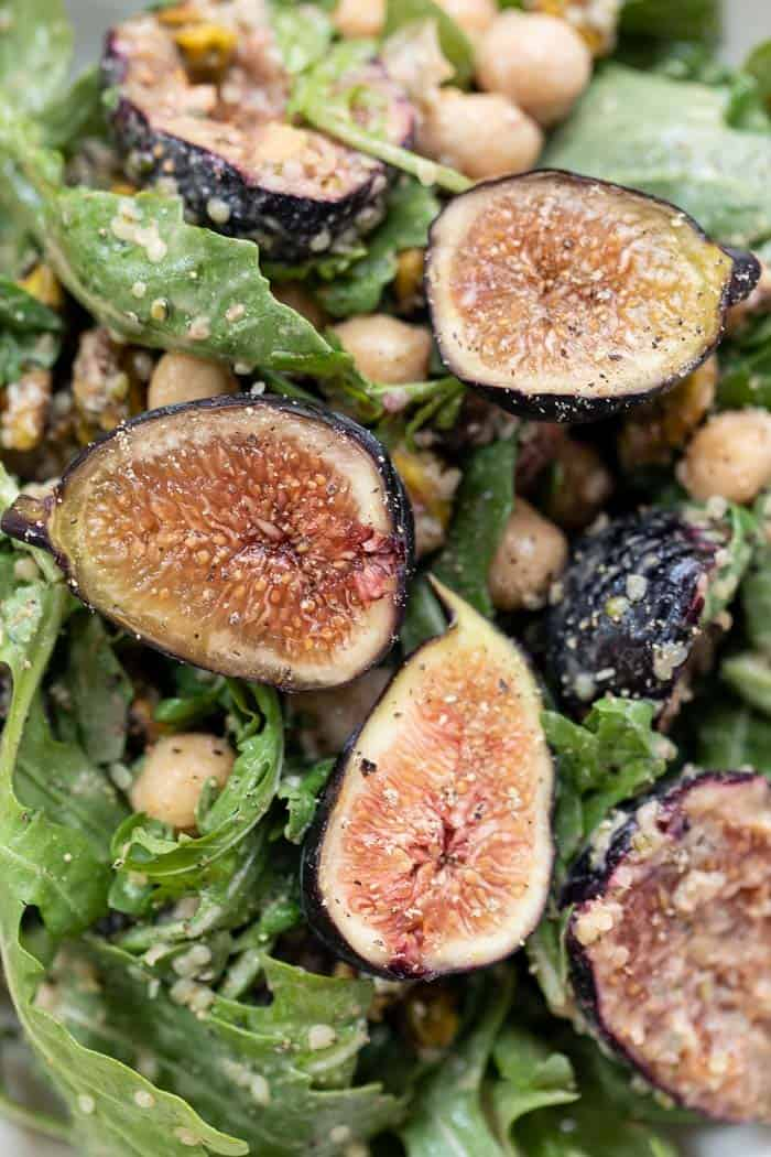 Healthy Summer Salad with Figs