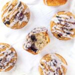 Blueberry Quinoa Muffins with Oats