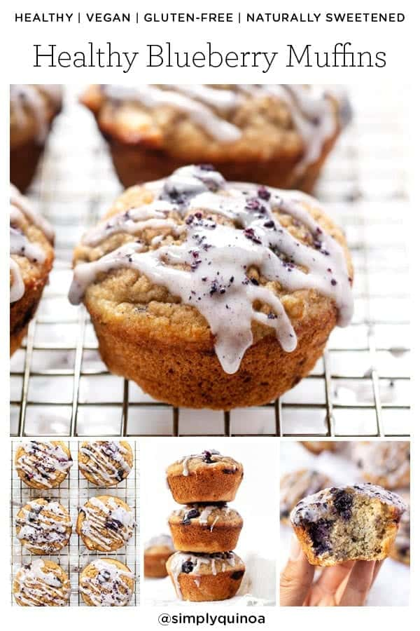 Blueberry Muffins with Sugar-Free Icing