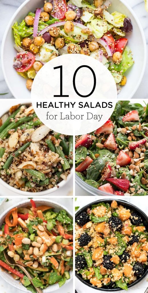 Healthy Salads for LABOR DAY