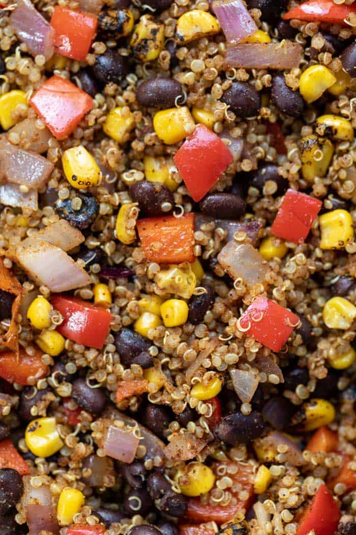 Vegan Mexican Quinoa Recipe
