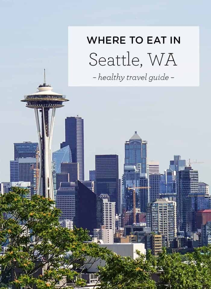 Best places to eat in Seattle