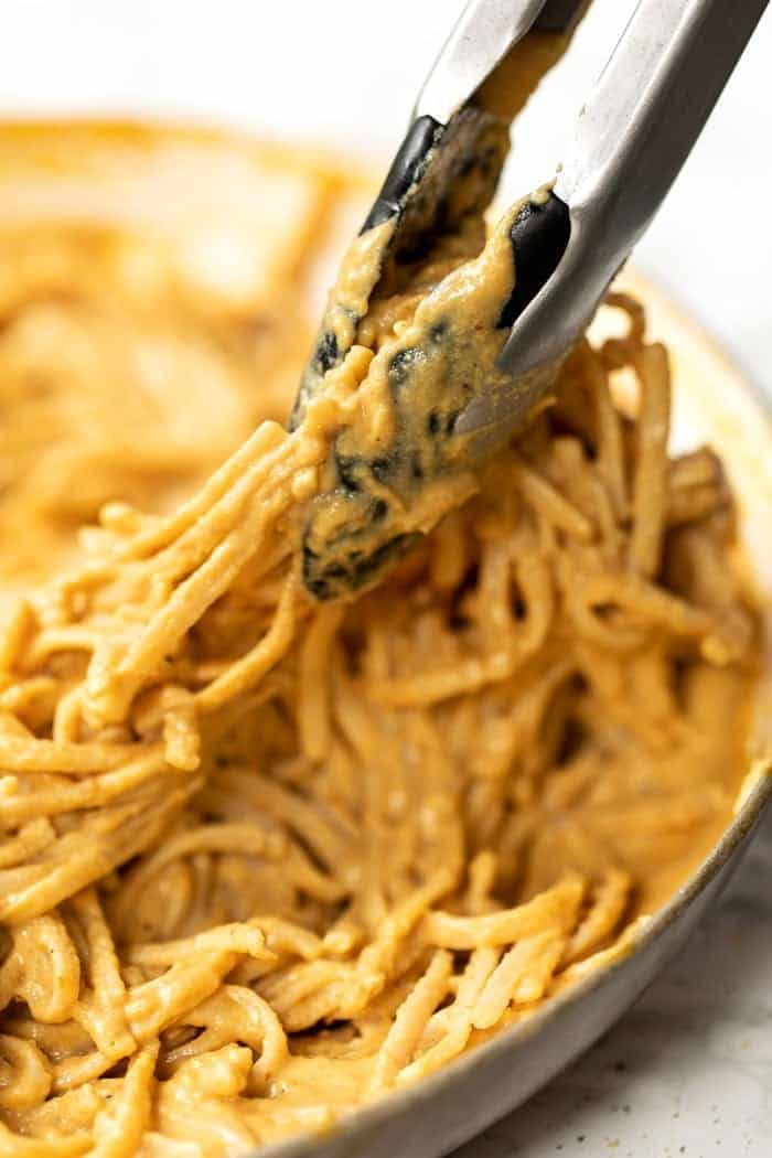 Dairy-Free Alfredo Sauce with Pumpkin