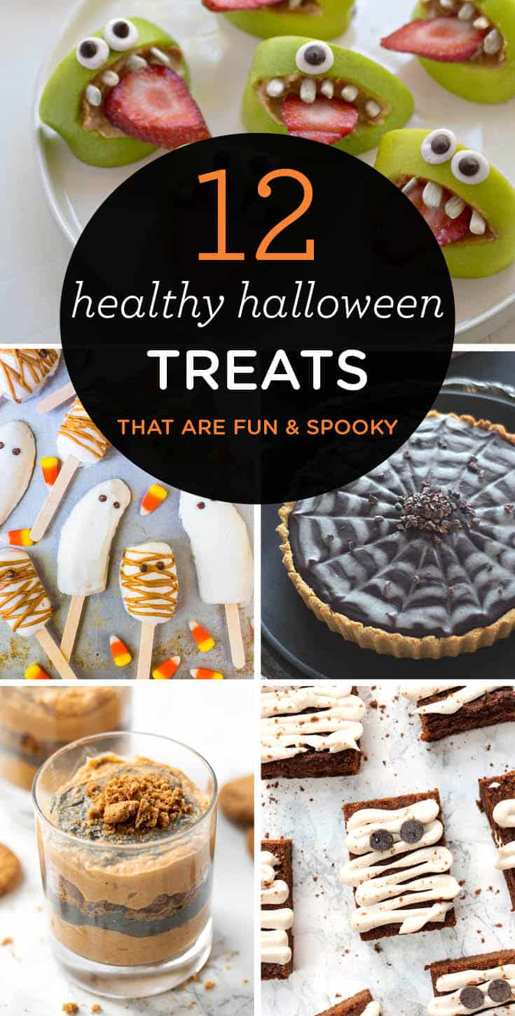 12 Healthy Halloween Treats