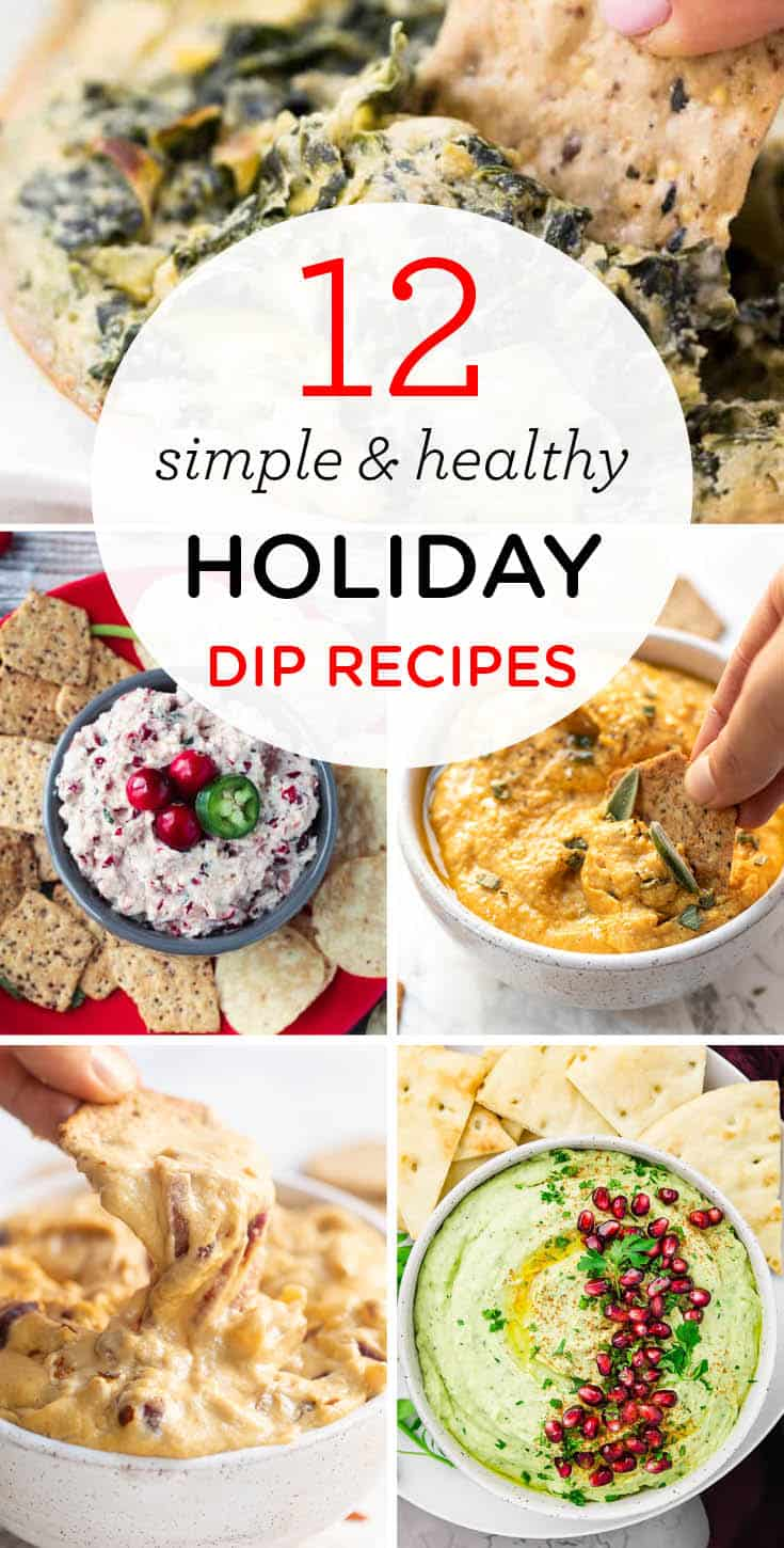Healthy Holiday Dip Recipes