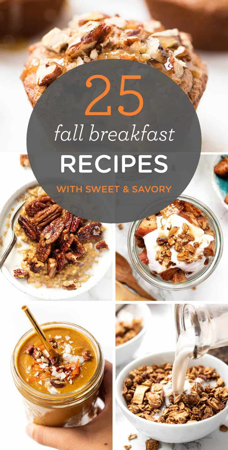 Easy Fall Breakfast Recipes