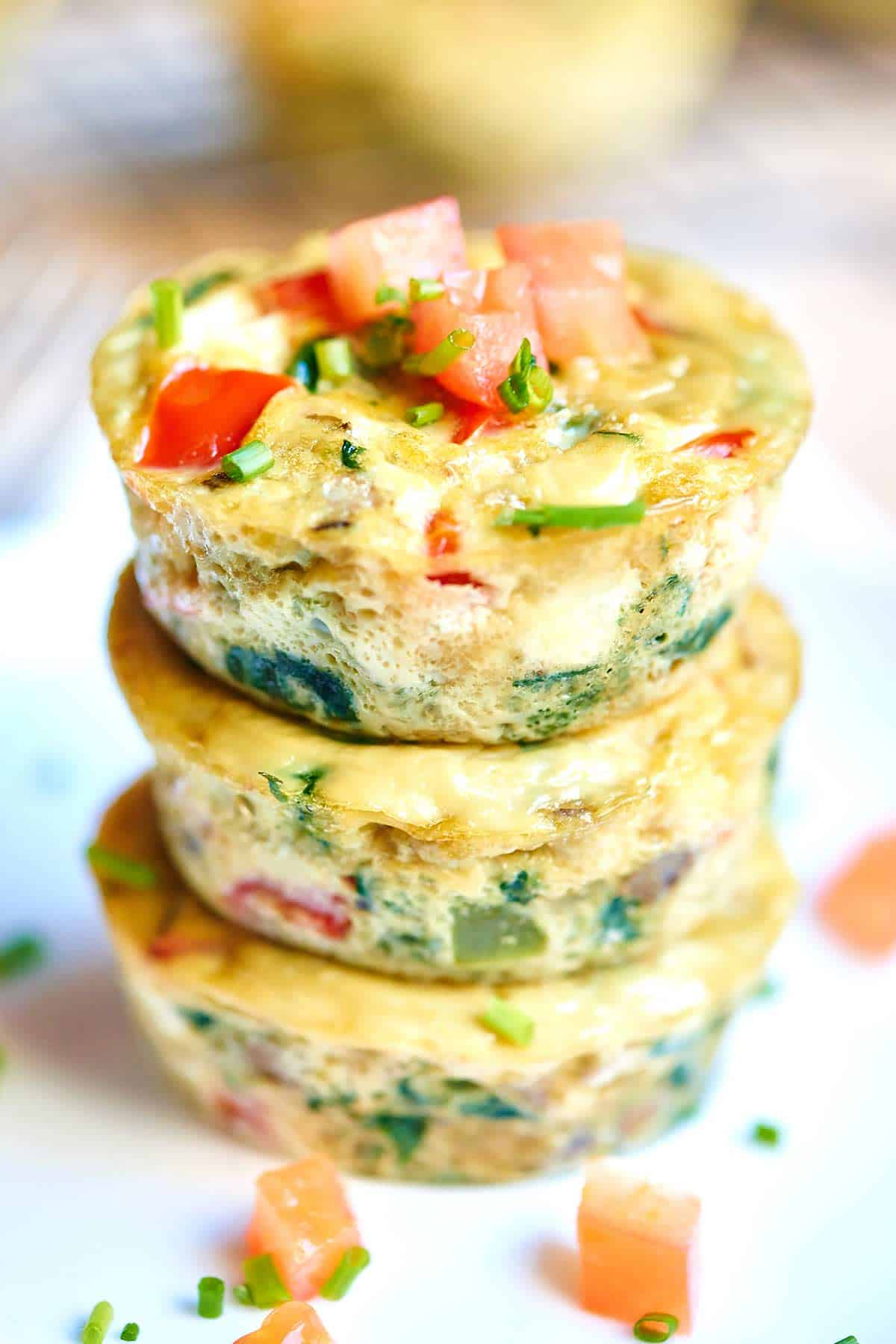 Healthy Egg Muffins from Show me the Yummy