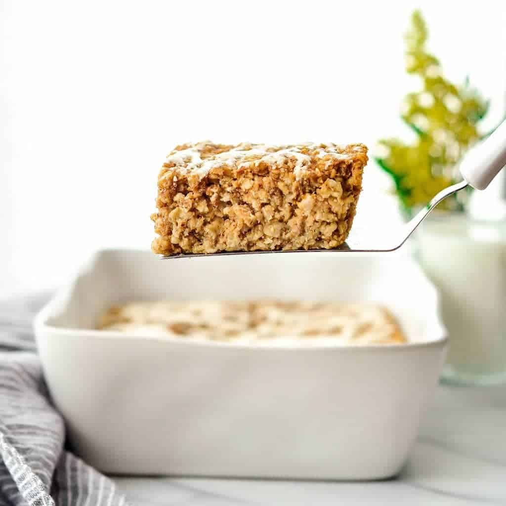 Healthy Pumpkin Baked Oatmeal from Joy Food Sunshine