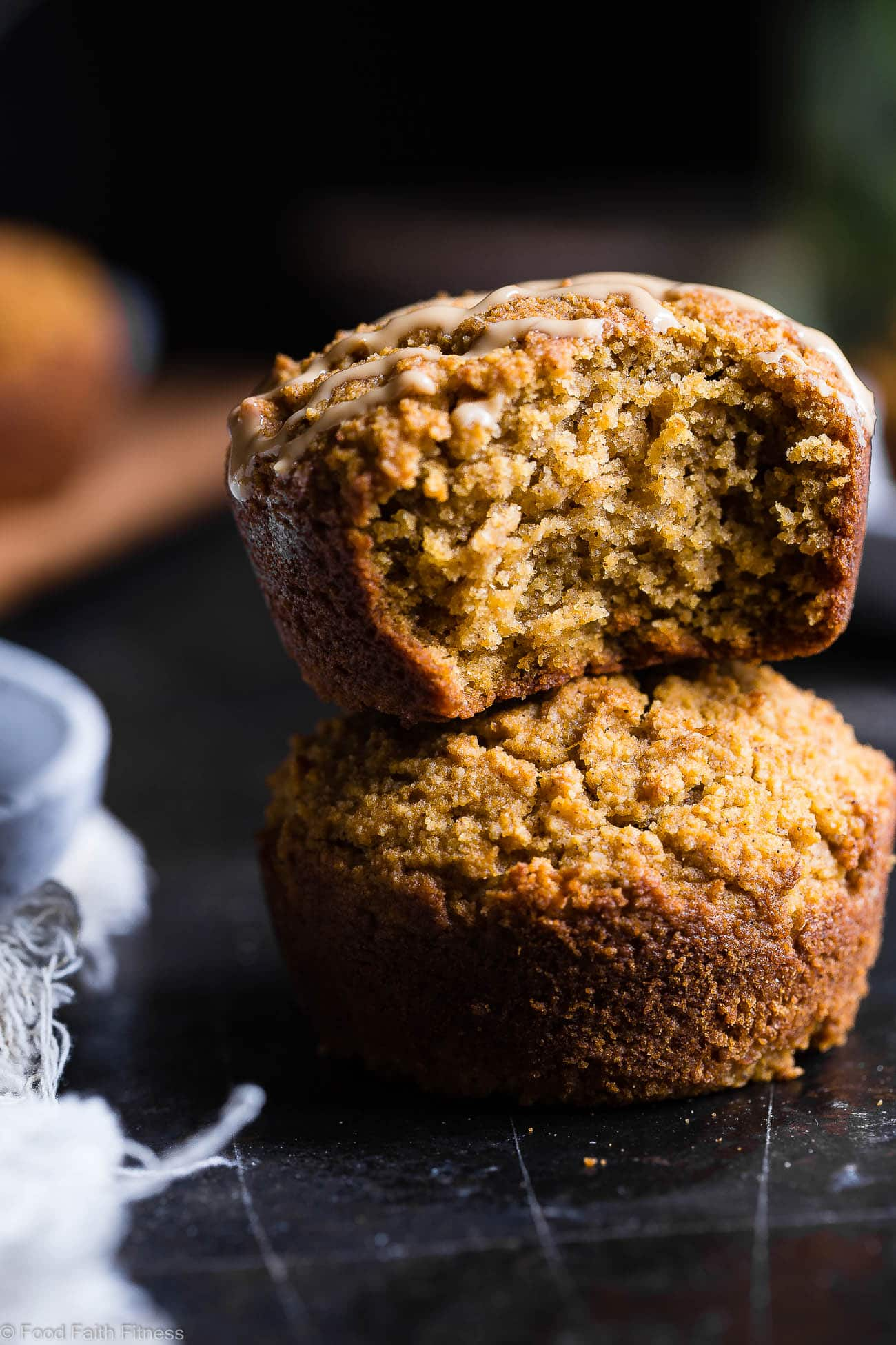 Paleo Pumpkin Muffins from Food Faith Fitness