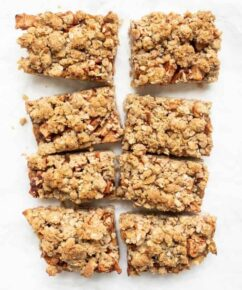 Gluten-Free Apple Crumble Bars
