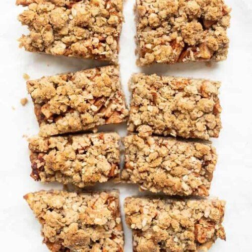 Gluten-Free Apple Crumble Bars