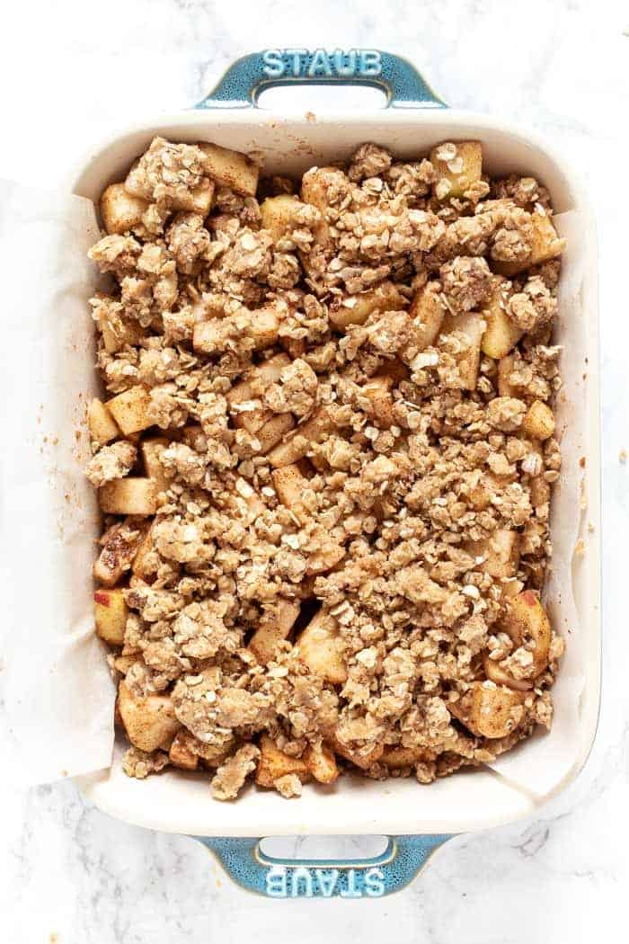 Healthy Crumble Topping