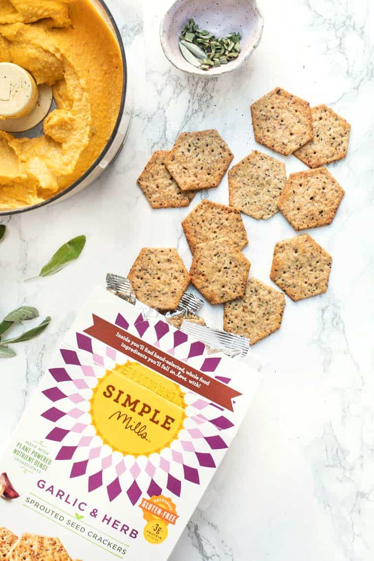 Simple Mills Sprouted Seed Crackers