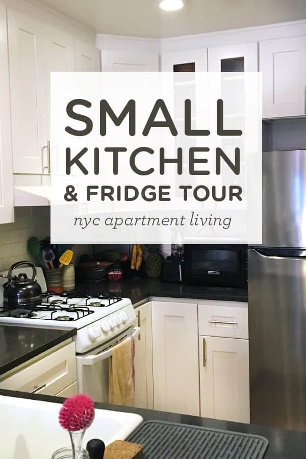 Small Kitchen and Fridge Tour