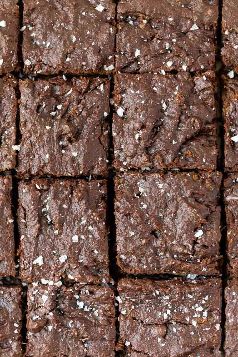 Vegan Brownies with Tahini