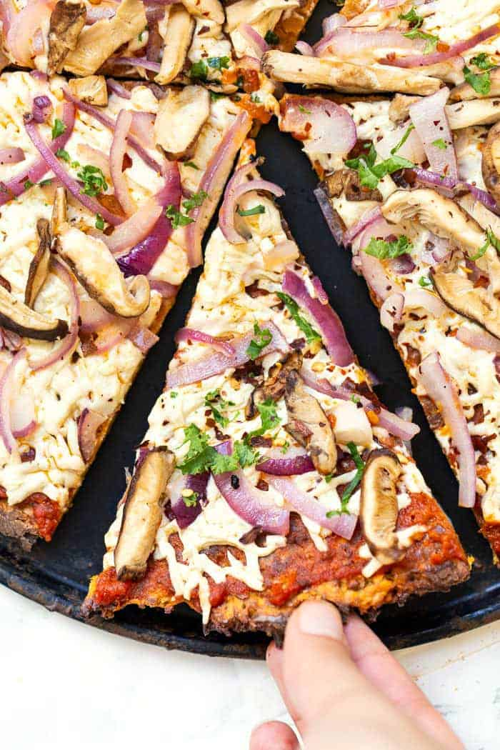 Gluten-Free Sweet Potato Pizza