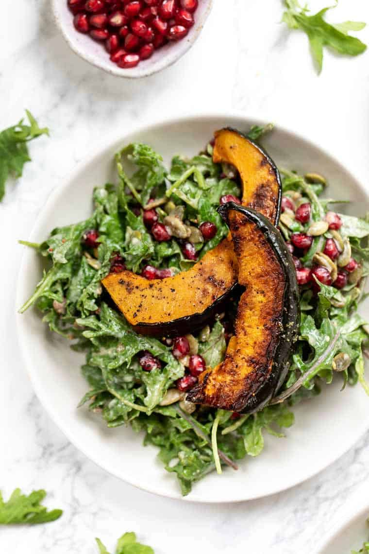 Fall Salad with Roasted Squash