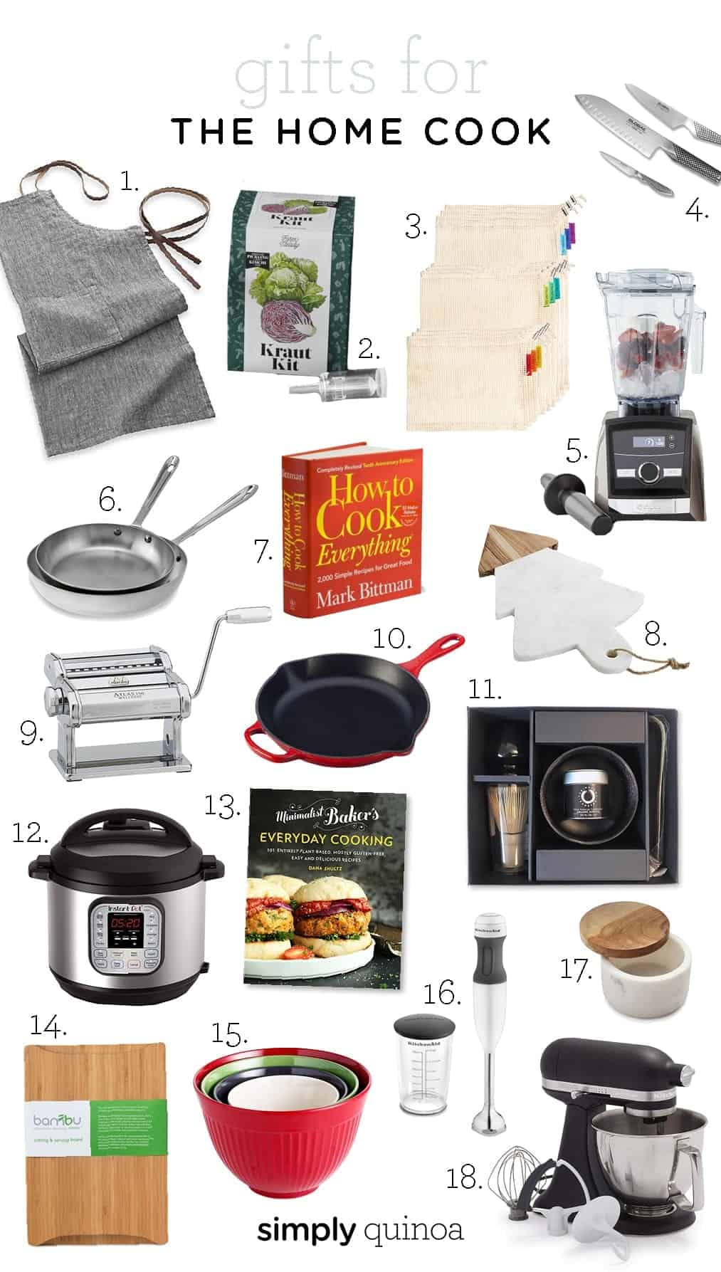 Gift Guide for Home Cook