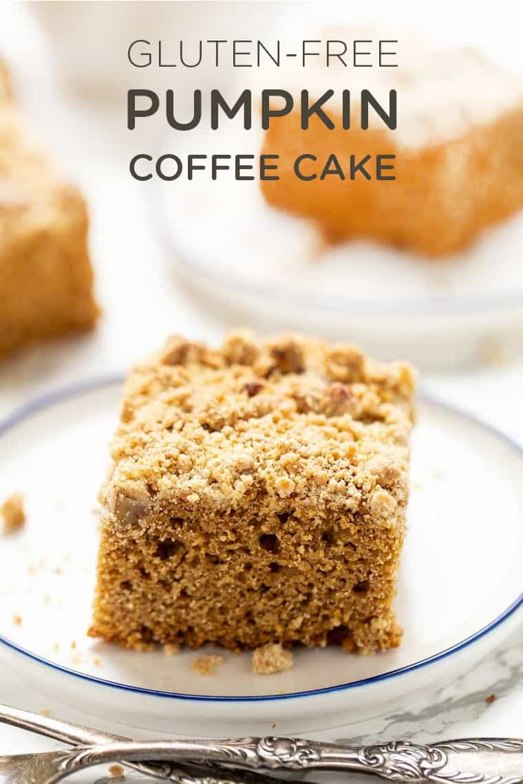 Gluten-Free Coffee Cake with Pumpkin