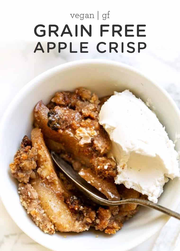 Healthy Grain-Free Apple Crisp