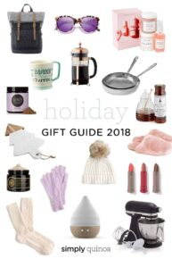 Holiday Gift Guides 2018 Simply Quinoa