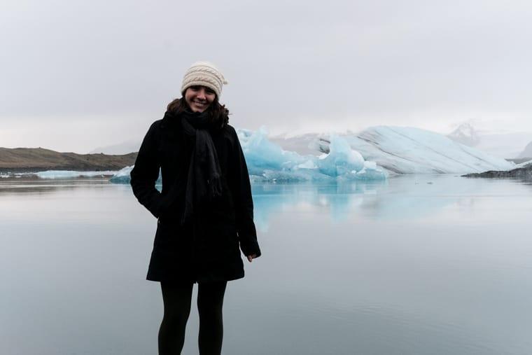 Visting Glacier Lagoon in Iceland