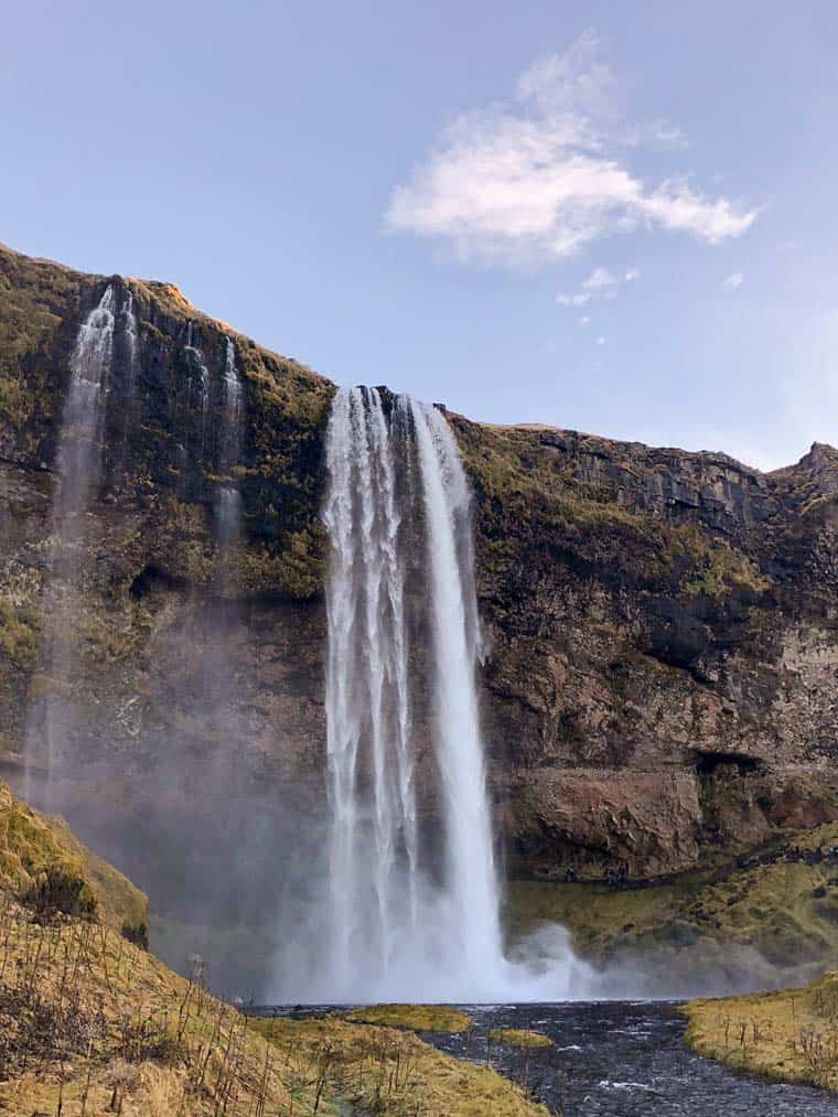 Visiting Waterfalls in Iceland