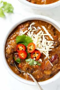Pumpkin Chili with Quinoa