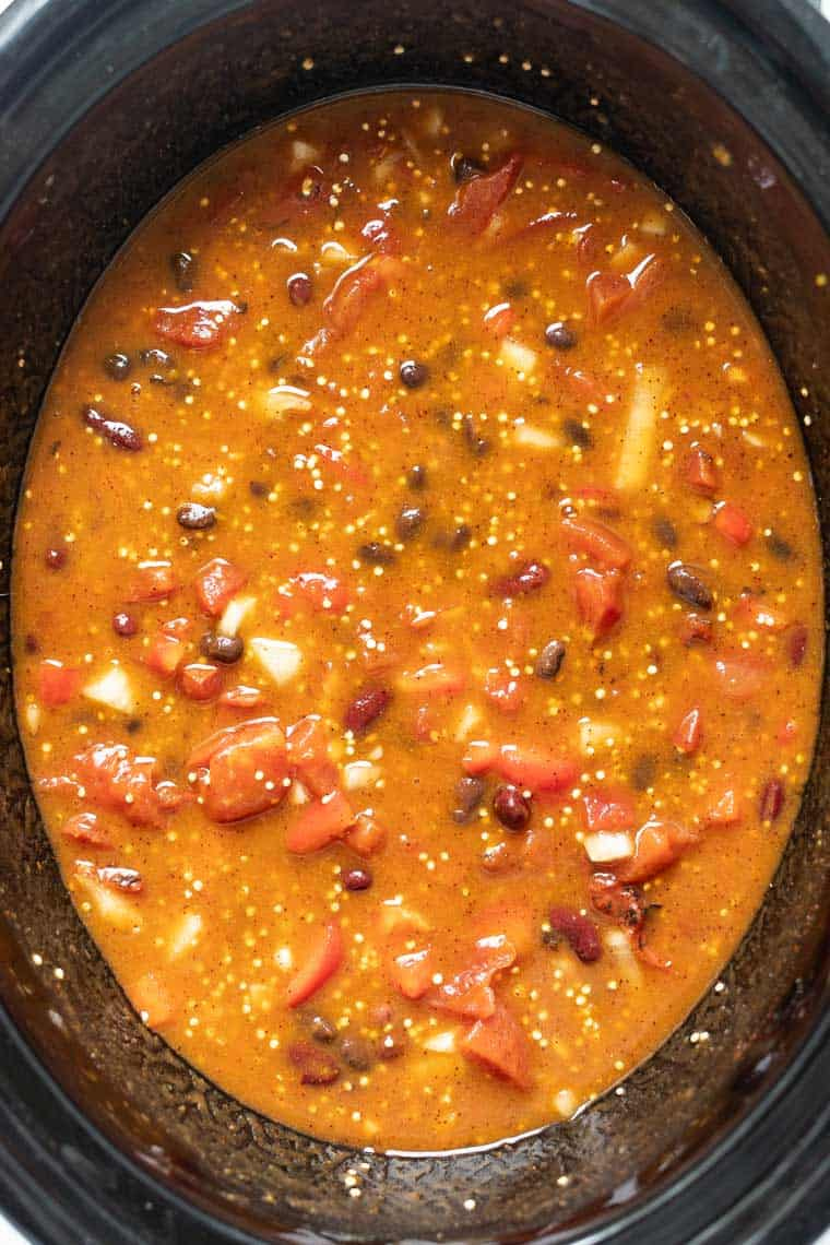 How to make Slow Cooker Quinoa Chili