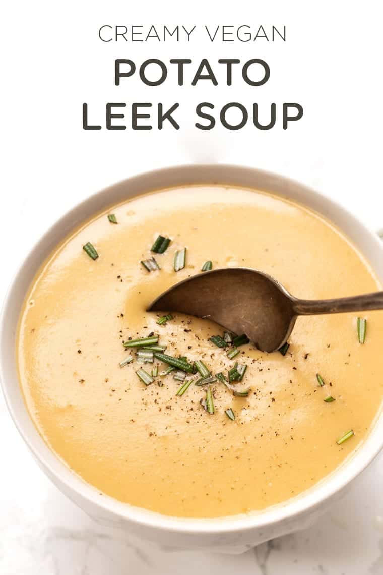 Dairy-Free Potato Leek Soup