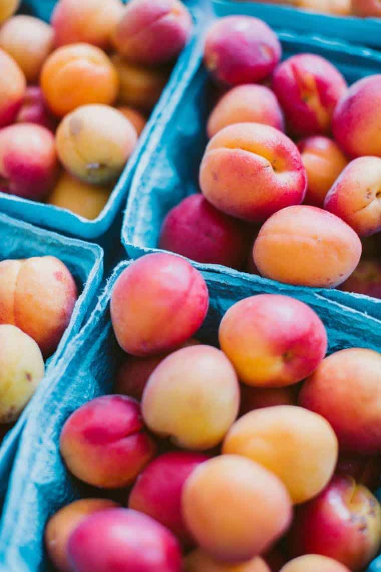 Fresh Peaches from NYC Greenmarket