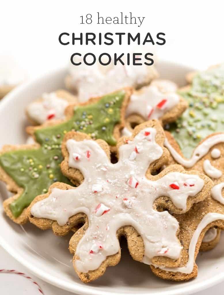 18 Healthy Christmas Cookies