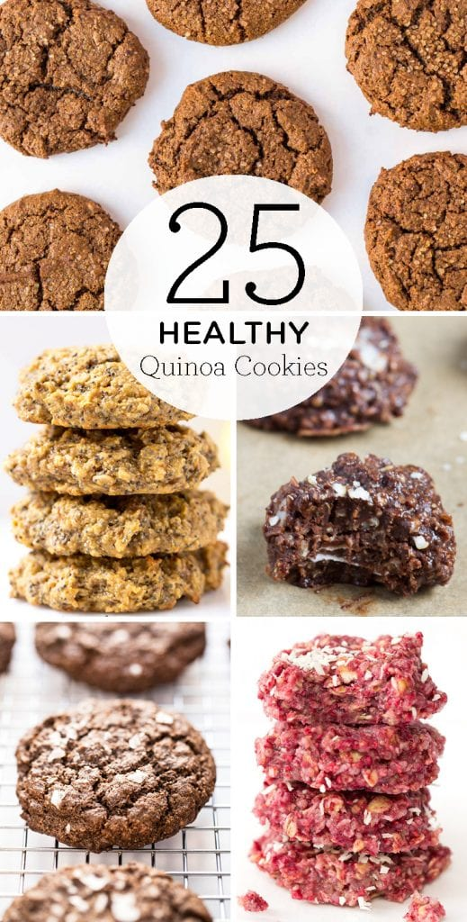25 Quinoa Cookie Recipes