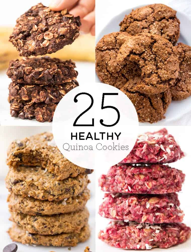 25 Healthy Quinoa Cookies