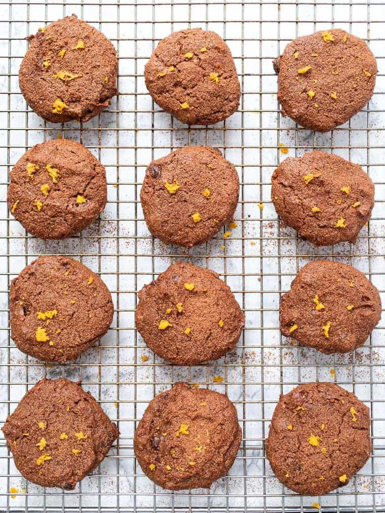 Healthy Chocolate Orange Cookies