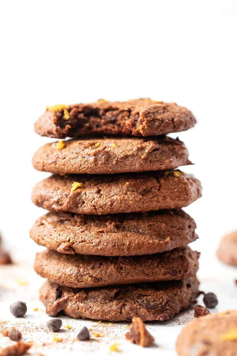 Chewy Chocolate Orange Cookies