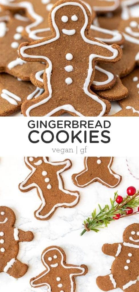 vegan gluten-free gingerbread cookies
