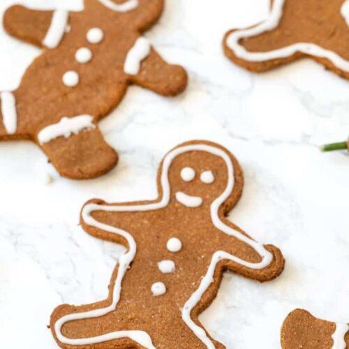GF Vegan Gingerbread Cookies