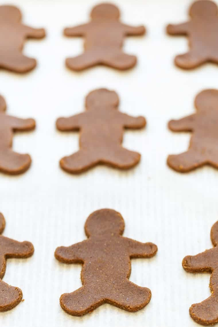 How to make Healthy Gingerbread Cookies