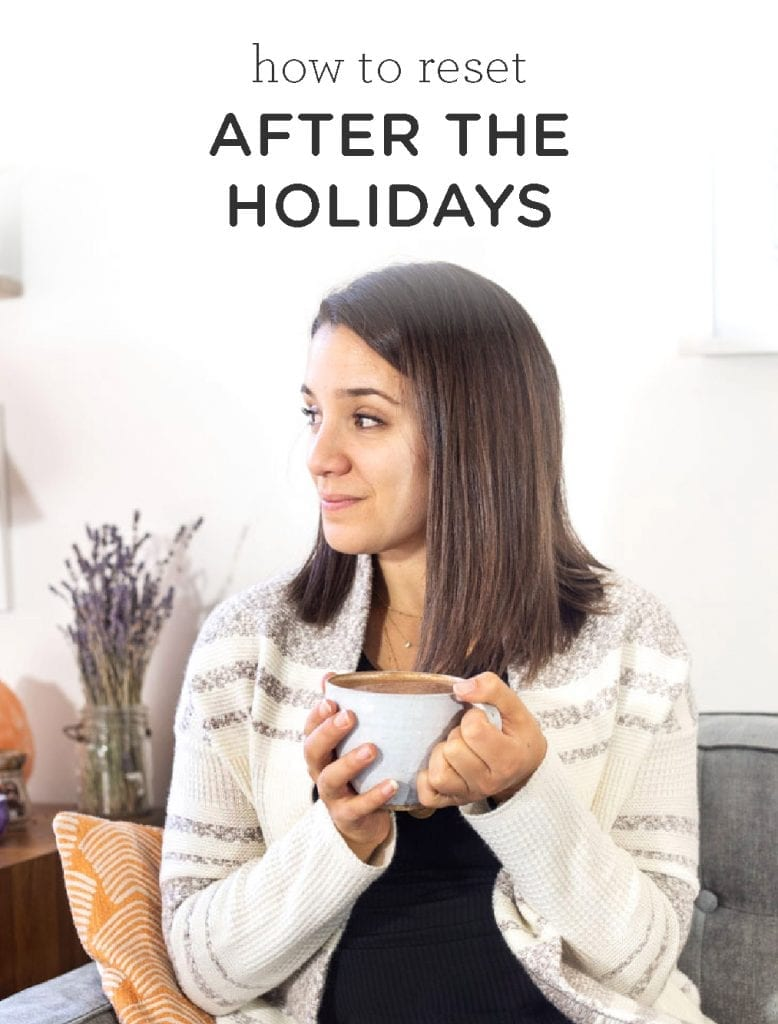 How to Reset After the Holidays