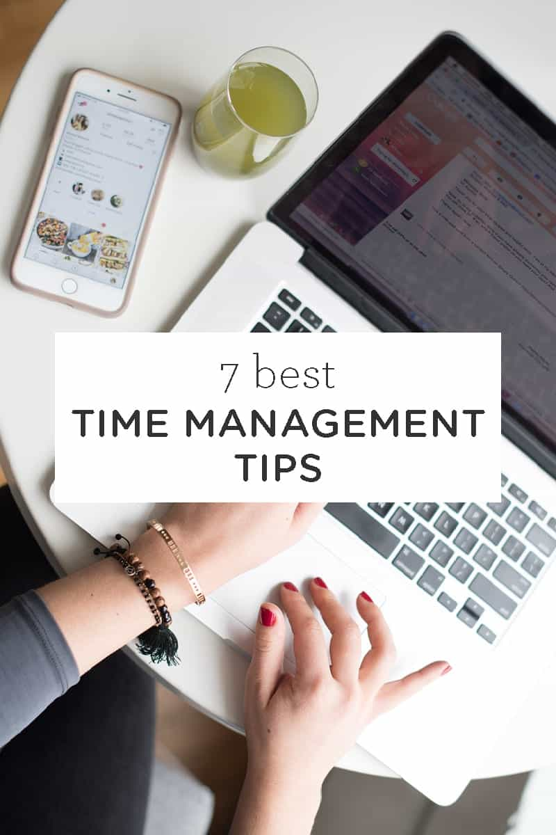 Best Time Management Tips