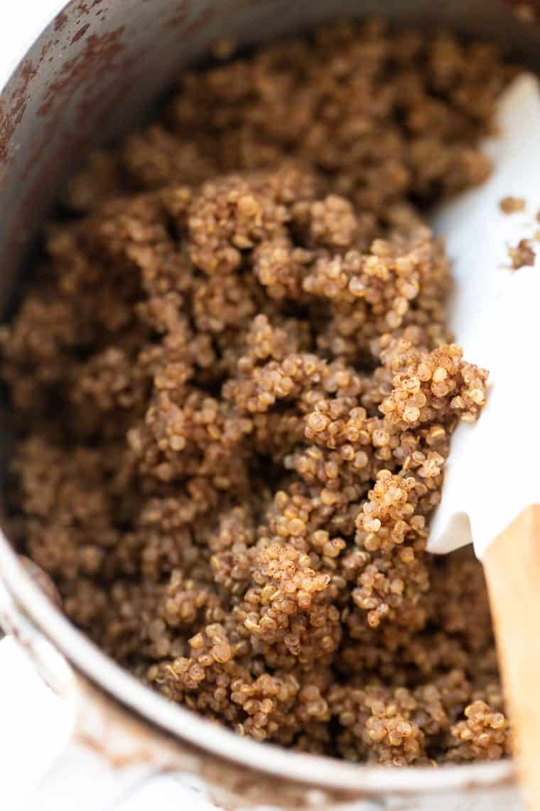 Cinnamon Quinoa for Breakfast