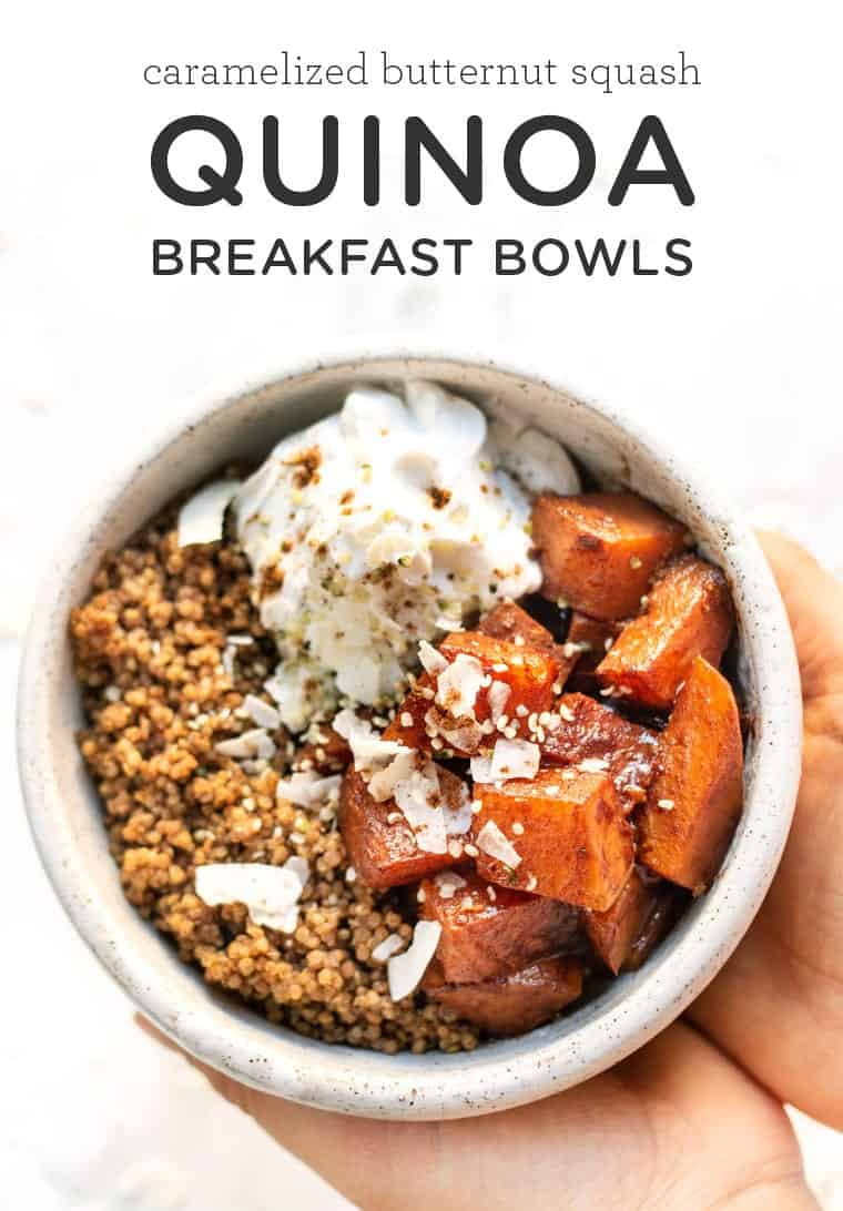 Healthy Quinoa Breakfast Bowls