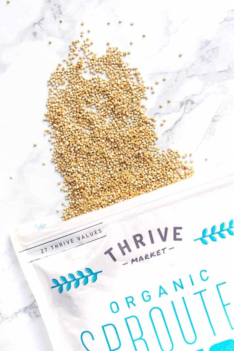 Sprouted Quinoa from Thrive Market