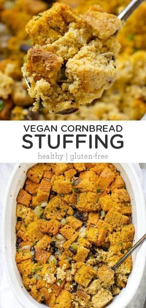 Vegan Cornbread Stuffing