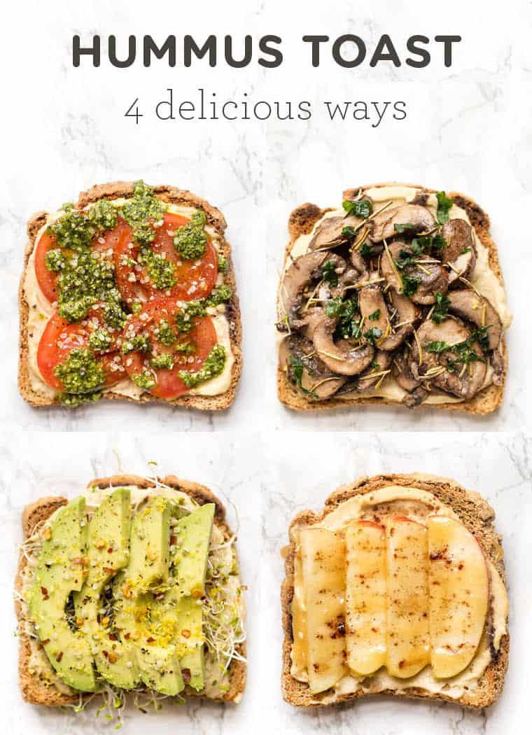 How to make Hummus Toast