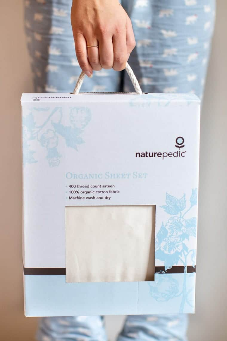 Best Organic Cotton Sheets from Naturepedic